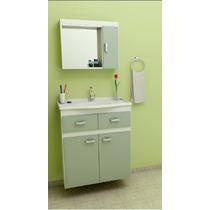 Gabinete / Armário Para Banheiro Sem Espelheira Carrara