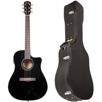 Violao Fender Folk Elétrico Dreadnought Cd60 Ce C/ Case