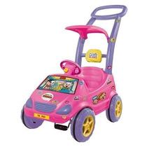 Carrinho Bebê Roller Baby Mônica C/ Pedal E Música - Magi...