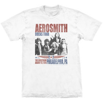 Camiseta Aerosmith Rocks Tour Stamp