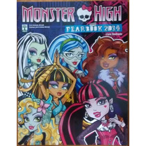 Álbum Figurinha Abril Monster High Fearbook 2014