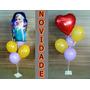 9 Suporte Para Balões,45 Varetas Para Bexigas Que Imitam Gás