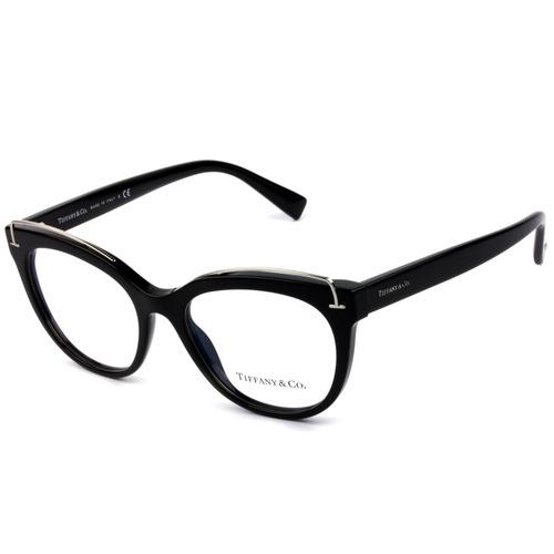 e31646325 Óculos Tiffany & Co Tf2166 8001 Preto E Prata 51-fiscal