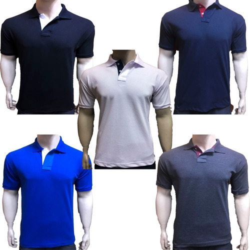 29faf27e8f ... Kit 3 Camisas Gola Polo Varis Marcas Atacado Revenda Lucre  8024765379d0f1 ...