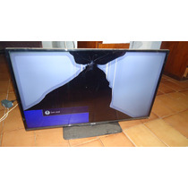 Tv De 40º Phillips Com Tela Display Quebrada