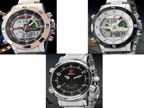 001f8bcad9f Relógio Tubarão Smart-shark Prata-rose - Original Importado