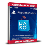 Cartão Playstation Br Brasil Psn R$150 (2x R$60+r$30) Reais