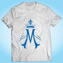 Camisa Ave Maria Nossa Senhora Religiosa Igreja Católica