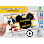 Video Convite Animado Digital Virtual Do Mickey