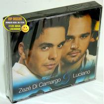 Box Zezé Di Camargo E Luciano - 4 Cds - As Melhores - Raro