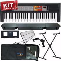 Kit Teclados Musicais Yamaha Iniciante Preço Baixo C/ Ritmos