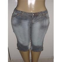 Calça Corsário Feminina Tam. 44 C/ Strech Marca Optimist S6