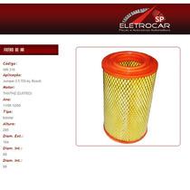 Filtro De Ar Citroen Jumper 2.5 Tdi Inj. Bosch 96 À 00