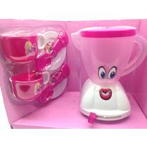 Liquidificador Infantil E Kit Chá Para Meninas