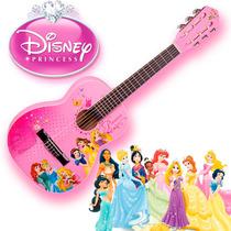 Violão Infantil Rosa Disney Princesas - Lindo