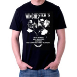 Camiseta Winchesters Supernatural