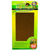 Carpete P/ Terrário Zoomed Marrom (32,5x120cm) - Pet Hobby