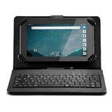 Tablet Multilaser + Case Teclado M7s Go 1gb 16gb Nb310 Loi
