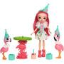 Enchantimals Histórias - Festa Com  Flamingos Mattel