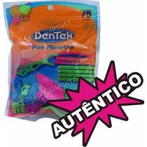 Dentek Infantil Fio Dental Original Floss Picks - 75 Unids
