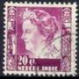 Selo India Holandesa,rainha Wilhelmine,20c 1938/39.usado.