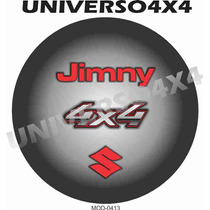 Capa Estepe Suzuki Jimny, Pneu Original, Vermelho, 0413