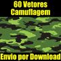 Vetores Camuflagem Corel Illustrator Carros Motos Arte Vetor