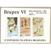 Ml-3618 Selo Brasil (bloco Brapex Vi) 1985 B-69