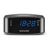 Radio Relógio Alarme Despertador Multilaser Digital Sp288