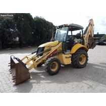 Retro Escavadeira New Holland 95b 4x4 2013 Retro