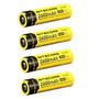 4 X Baterias Recarreg Nitecore 18650 - Nl186 - 2600 Mah 3,7v