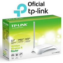 Roteador Wireless Tp-link Tl-wr720n 150mbps C/ 1 Antena Fixa