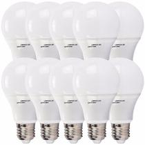 Kit 10 Lampada Led 7w Bulbo Soquete E27 Bivolt Casa Comercio