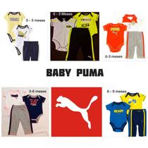 Conjunto 3 Peças Puma Original Menino