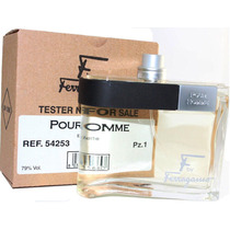 Perfume F Pour Homme 100ml Edt Salvatore Ferragamo Original