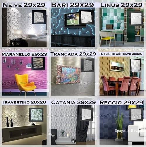 Kit 14 Formas Placas Gesso 3d Plástico+eva Mosaico Promoção
