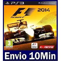 F1 2014 Digital Ps3 Código Psn