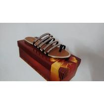 Rasteirinha Strass - Sapato Direto Da Fábrica