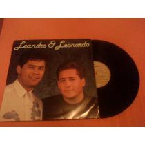 Lp - Leandro E Leornardo   Capa E Lp Semi-novo