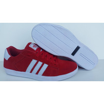 Tenis Adidas Skate - Estilo Swag Red Color