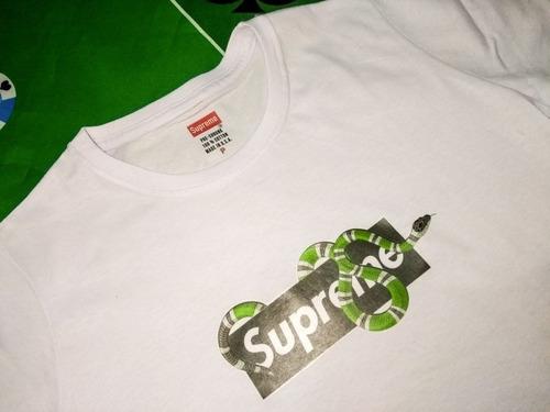 8bb1edbda Camisa Camiseta Supreme Marca Grife Marca Famosa Mais Brinde - R$ 41 ...