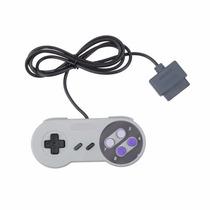 Kit Super Nintendo / Nes 2 Controles + 1 Cabo Av + 1 Fonte