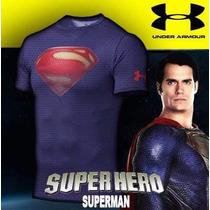 Camisetas Under Armour Compressed-heat Gear, Ja No Brasil!!