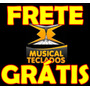 Borracha Nova P/ Teclado Korg Pa800 Frete Grátis - Promoção