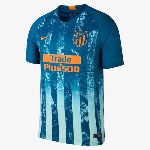 Camisa Atletico M. Azul 18-19 Original ( Pronta Entrega ) 3352f4d2d3b08