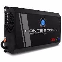 Fonte Carregador Bateria Digital Jfa 200 Amps