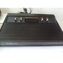 Atari Polivox 2600 Console Fita E Controle.