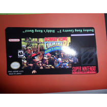 Labels - Donkey Kong Country 2 - S-nes