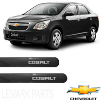 Friso Lateral Chevrolet Cobalt 2012 /2016 Preto Carbon *