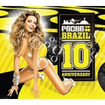 Cd Pacha Brazil - 10th Aniversary (box 3 Cds)